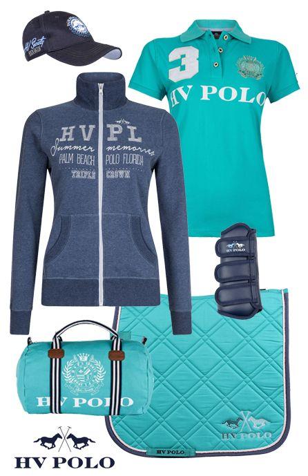 HV Polo Edison Aqua #hvpolo #summer17 #equestrian #fashion