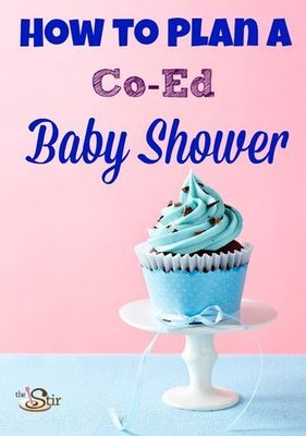 how to plan a co-ed baby shower