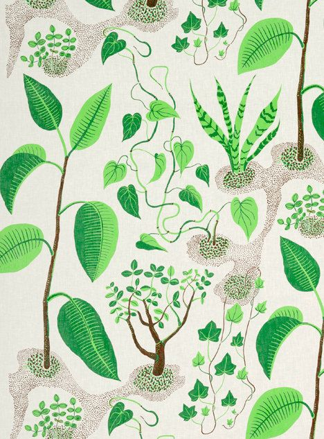 Josef Frank Windows Fabric Wall Art / Wall Decor