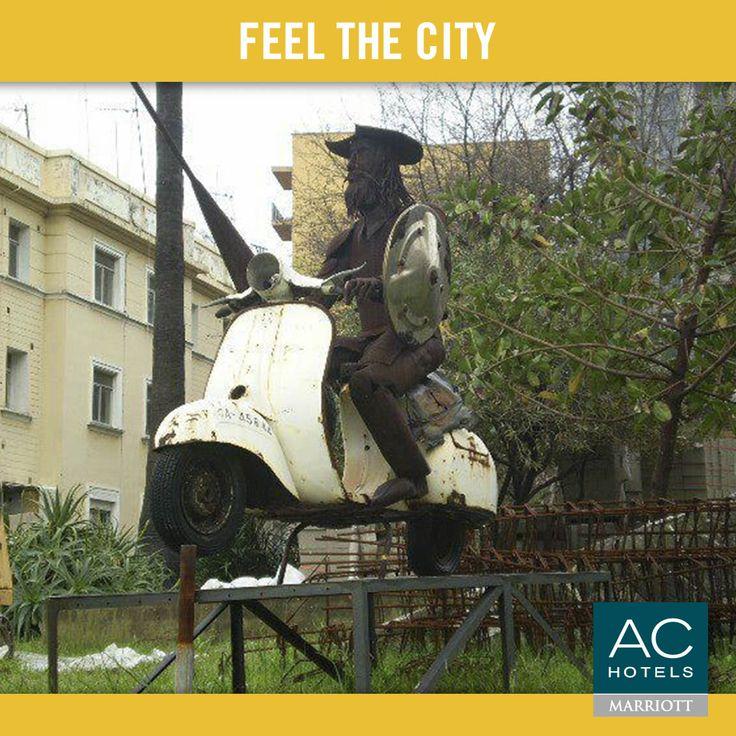 El Quijote en #Vespa, Algeciras