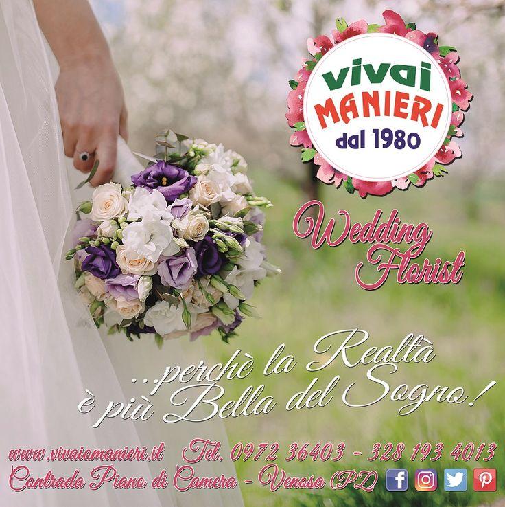 CLIENTE: Vivai Manieri dal 1980, Wedding Florist LAVORO: Grafica & Stampa Manifesto per Postazioni Pubblicitarie