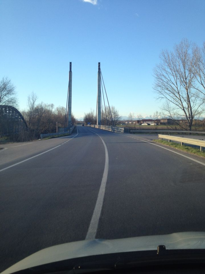 Il ponte in acciaio e cemento armato di Bordolano Cr