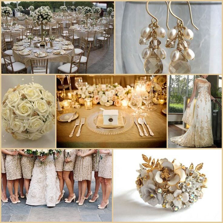 Gold Wedding Reception: Wedding Reception Trends 2014