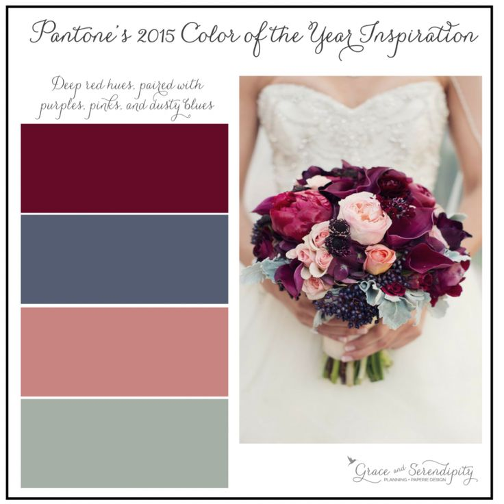 Color Of The Year Pink Green Wedding Serendipity And