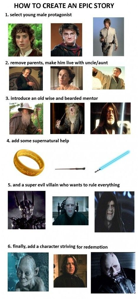 How to create an epic story.