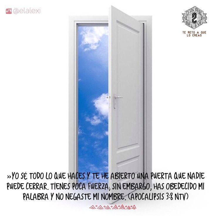 Dios abre puertas que nadie puede cerrar