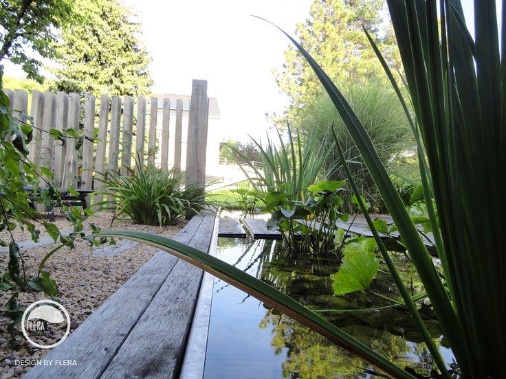 #landscape #architecture #garden #path #water #feature #chair #pond #resting #place