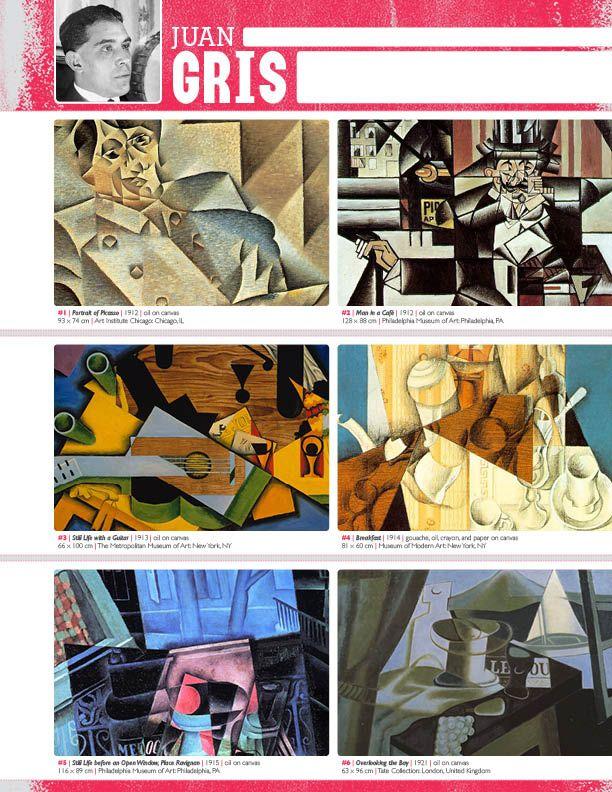 The smARTteacher Resource: JUAN GRIS (Artist Binder Notes)