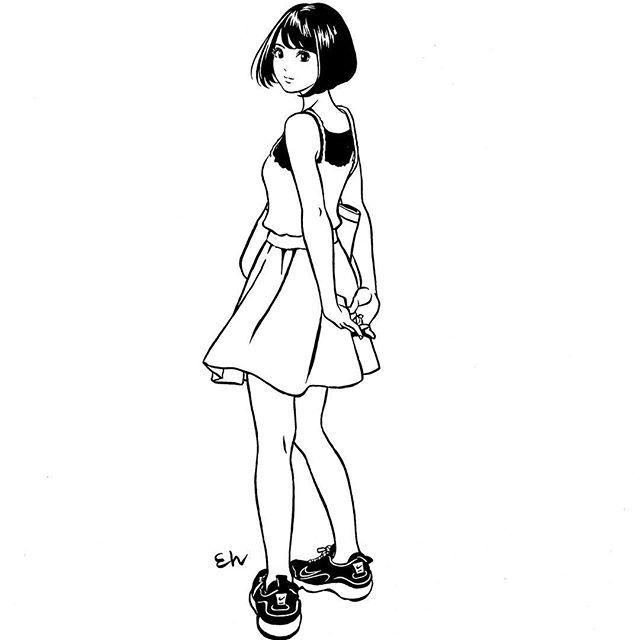 江口寿史のスニーカー画像