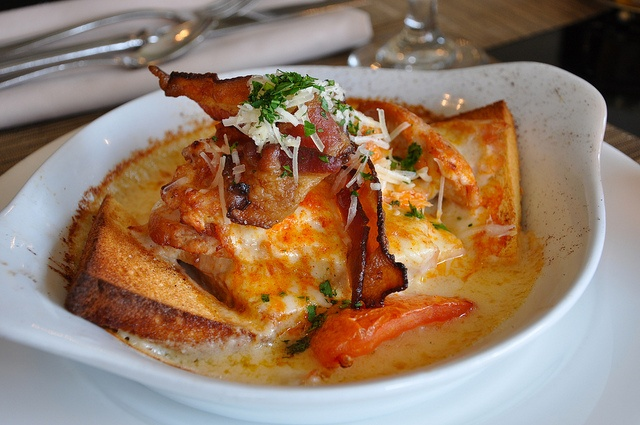 Hot Brown at The Brown Hotel Louisville KY - Totally worth the caloric detour! by Mod Betty / RetroRoadmap.com, via Flickr