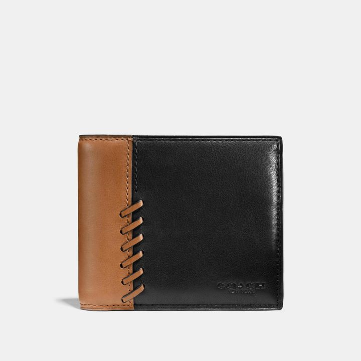 Coach Rip And Repair Compact Id Wallet