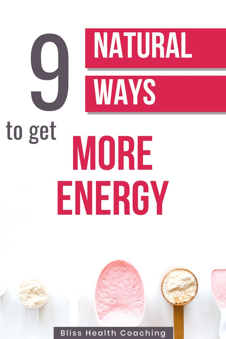 7 Natural Ways to Boost Your Energy - Nature's Nurture |Natural Ways Energy