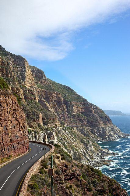 Atop Chapman's Peak  Cape Town
