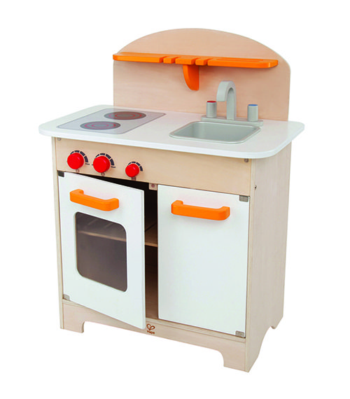 Gourmet Kitchen White From Hape from The Wooden Toybox