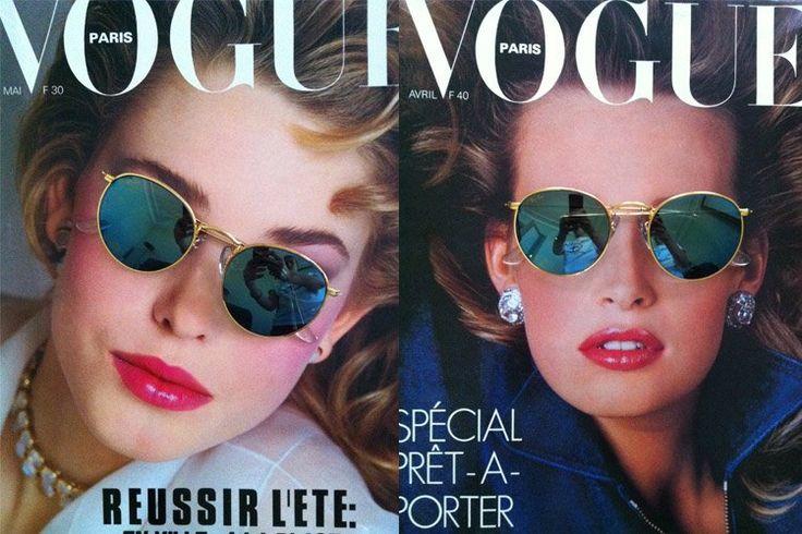 Vogue//Vintage Gold Rayban Circles!