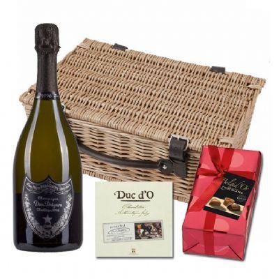 Buy & Send Dom Perignon Plenitude P2 and Chocolates Hamper Online