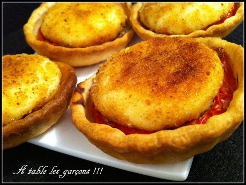Tarte tomate, Babybel pané et bataillefood 4 !!!