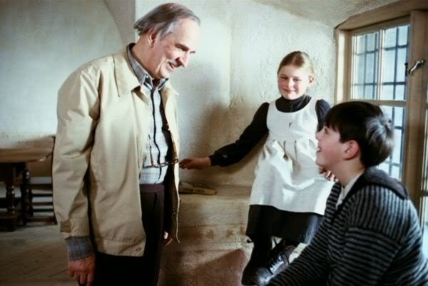 On the set of Fanny and Alexander (1982).