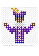 Thema-Feesten-Sinterklaas-Kralenplank ~ Juf Milou