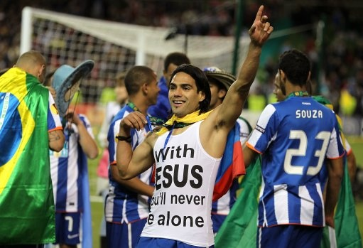 """Radamel Falcao - """"with Jesus You'll never be alone"""""""