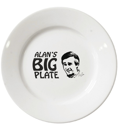 Alan's Big Plate | Alan Partridge | Official Products TV Merchandise | Official Products