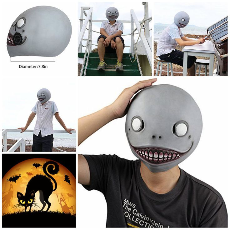 Alien Scary Realistic Halloween Costume decorations for Adults and kids Latex  #Monstleo #Halloween