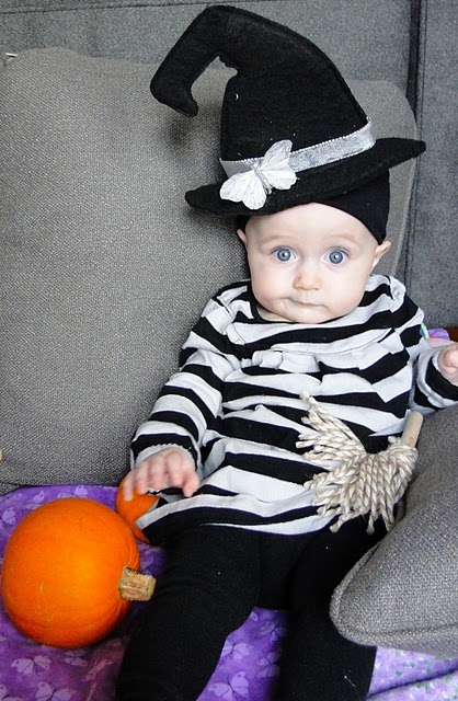 diy witch costume halloween for baby girl - Baby Witch Costumes Halloween