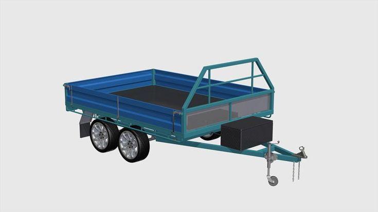 diy dump trailer plans