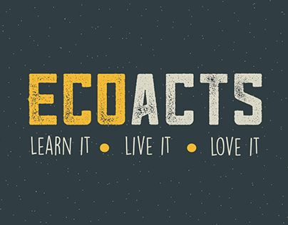 "Check out new work on my @Behance portfolio: ""ECO ACTS"" http://on.be.net/1BZHYUX"