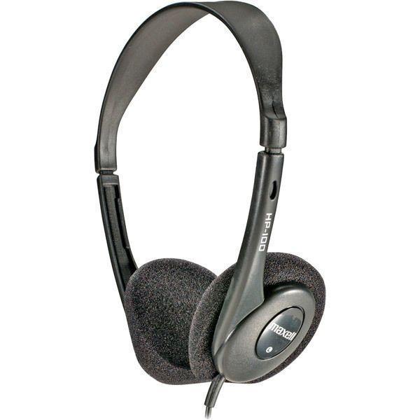 Maxell Lightweight 48g Stereo Headphones 20-20K Slide Headband #Maxell #DigitalStereoHeadphones