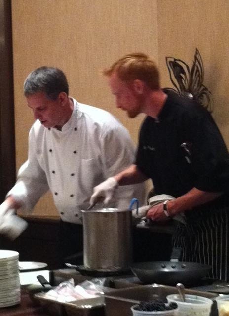 Chef duo executive chef dean and chef de cuisine brian - Chef de partie en cuisine ...