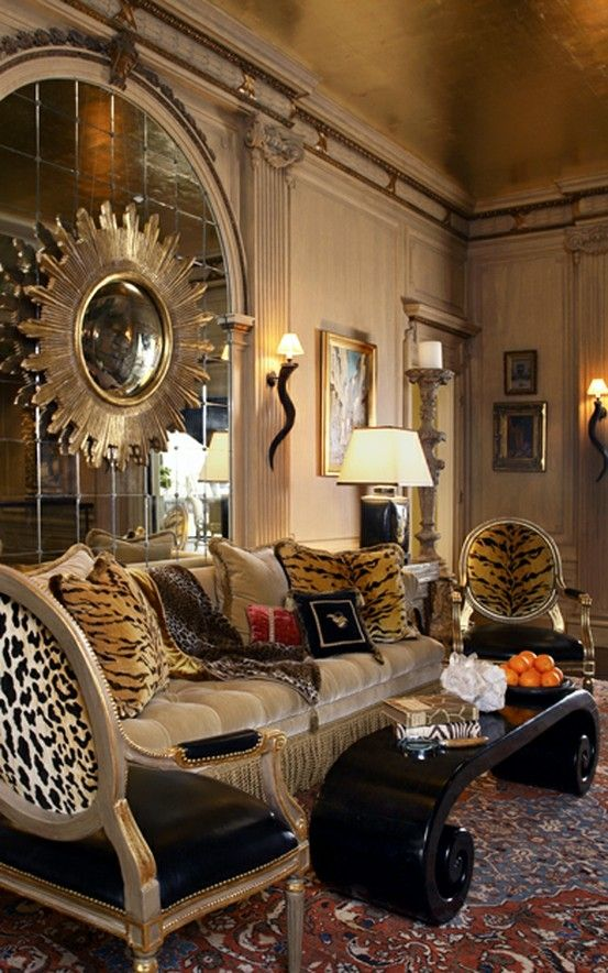 Animal print living room home decor pinterest for Animal print living room decorating ideas