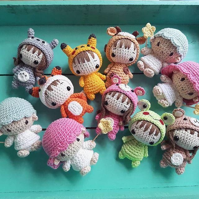 go to new home! #amigurumi #handmade#handmadedoll #crocheter #dolls #madetoorder #kawii #cutie