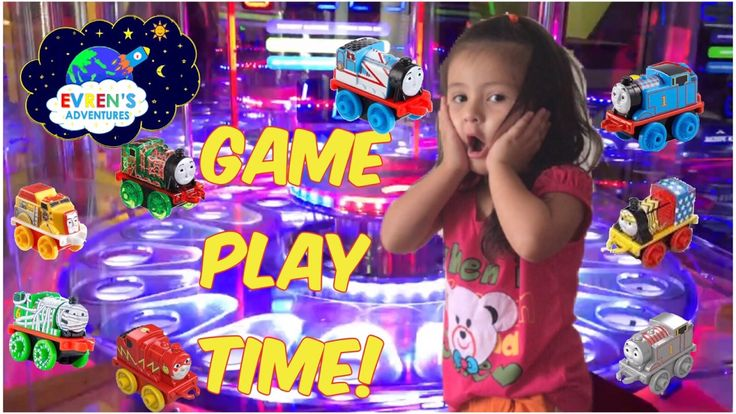 Indoor Arcade game centre Family Fun Kid Activities Thomas Minis Trains Kid Fun Game Evren Adventures ToysReview. Thanks for joining Evren and Evren's Daddy in Indoor Amusement Arcade Game centre and playing Thomas mini trains game. Great kid video for children who love arcade games and Thomas train toys collector.