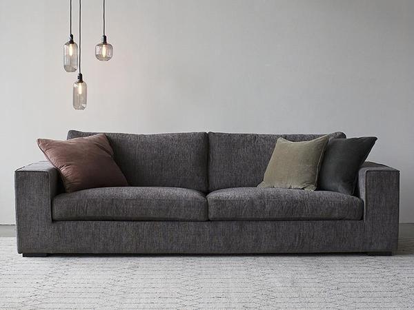 calma sofa 3 seater dark grey new lounge sofa grey couches rh pinterest com