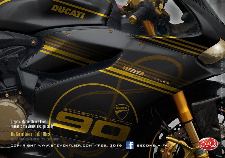 Virtual Tuning Ducati Panigale 1199 / 1299 - Grand Opera Caltrano - Client Limbächer