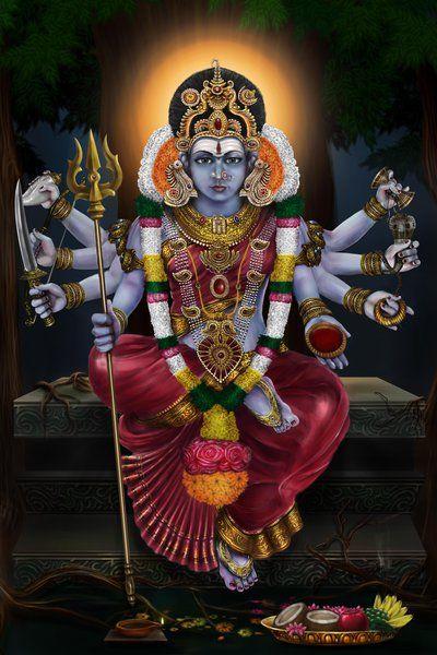 La Grande Déesse Kali par Shaatish (de l'image d'impression)