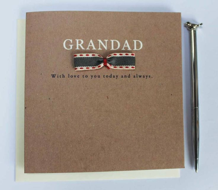 Grandad With Love Card