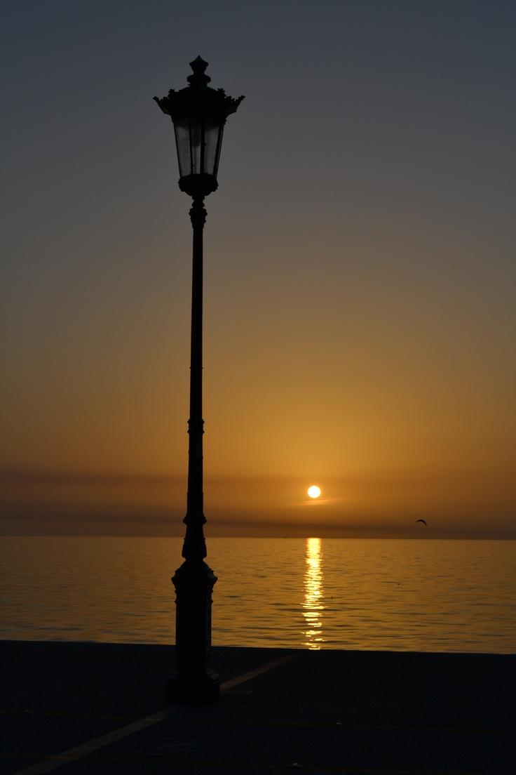 just after dusk - Beautiful Thessaloniki
