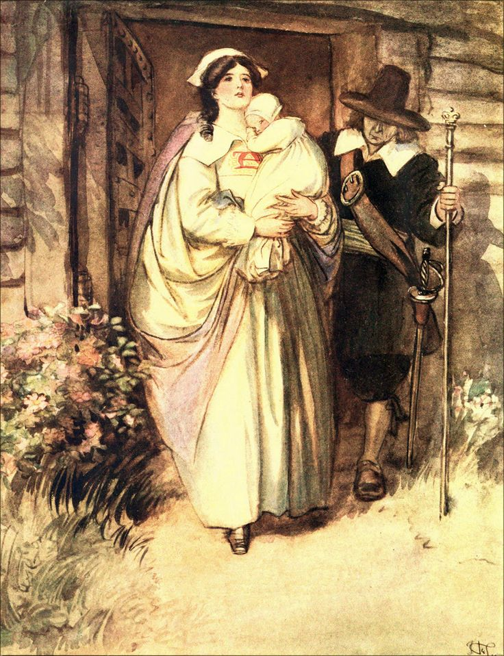40 best hugh thomson illustrations: the scarlet letter. images on