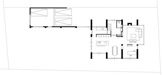 Afbeelding van http://dingemansarchitectuur.nl/wp-content/uploads/2013/09/plattegrond-moderne-woning-zichtlijnen-open-keuken1.jpg.