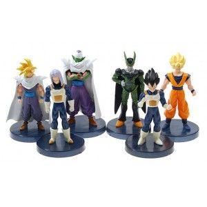 Dragon Ball Z - zestaw figurek 6 szt.: Son Goku, Vegeta, Piccolo, Trunks Briefs, Cell, Gohan