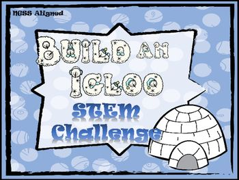 Get you students thinking like engineers during the winter months with this igloo STEM challenge. Students will use the engineering design process to make an igloo out of sugar cubes.Materials:sugar cubeswhite icing (or glue)empty can (optional)****includes a video on igloos******