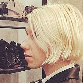 We Love It! Check Out Zosia Mamet's Platinum Blond Bob!  #InStyle