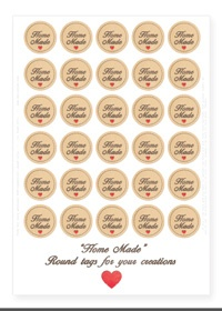 "*** FREE PRINTABLE ""Home made"" tags / ""Fatto in Casa"" tags ***"