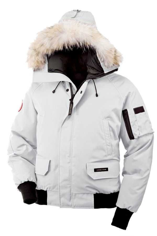 Canada Goose Chilliwack Bomber White Men's Jackets