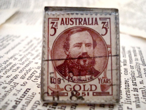 1951 Commemorative Century of Gold Discovery by SilverGypsys, $48.00