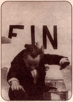 Rene Clair and Francis Picabia's breakthrough, reversible ending of their Dadaist film, L'entr-acte (1924