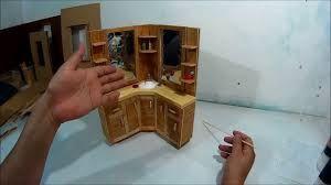 Resultado de imagen para como hacer muebles de carton en miniatura