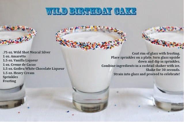 Wild Birthday Cake shots!   Recipes - Bread and Breakfast ...